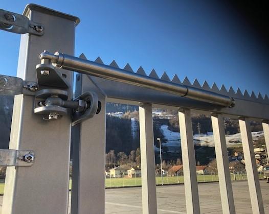 Ferme-portail DIREKT ferme des portillons automatiquement