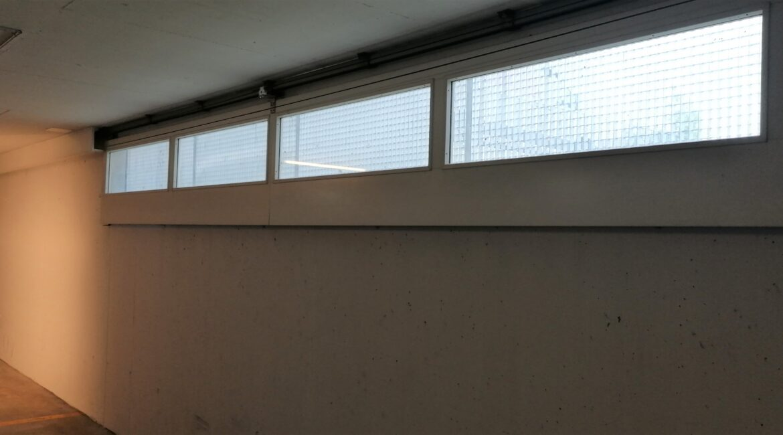 Brandschutzantrieb für Industrietore und Fenster-Wände