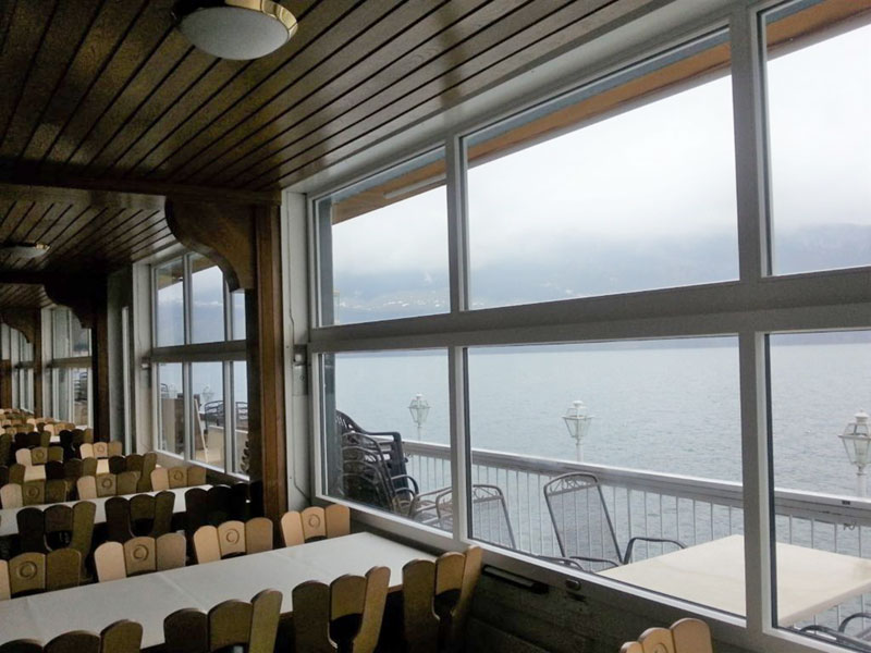 Hotel Schwert Fensterfront