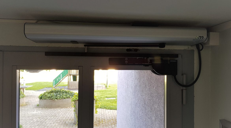Motorisation pour portes battantes Entrematic PSW250