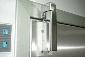 Türdämpfer an Kühlraumtür